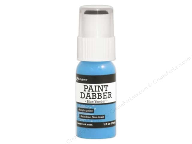 Ranger Acrylic Paint Dabbers 1 oz. Blue Yonder