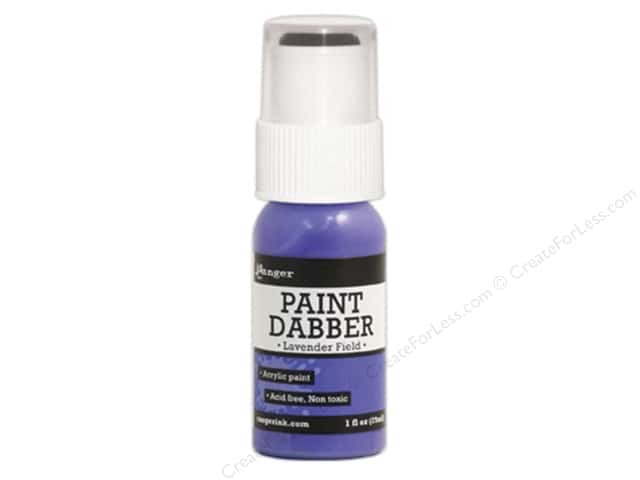 Ranger Acrylic Paint Dabbers 1 oz. Lavender Field