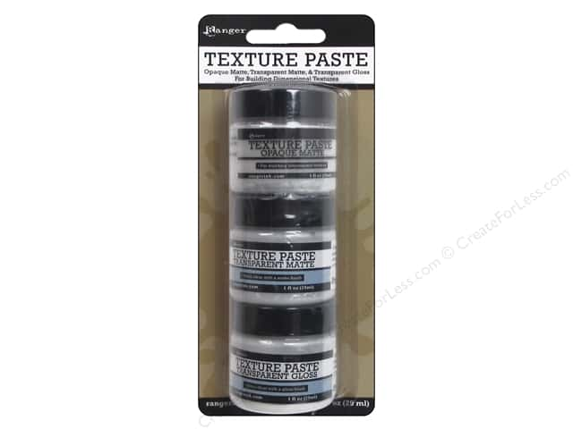 Ranger Essentials Texture Paste 3 pc.