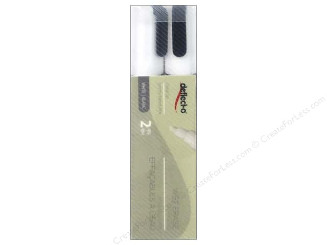 Deflecto Marker Wet Erase White 2pc