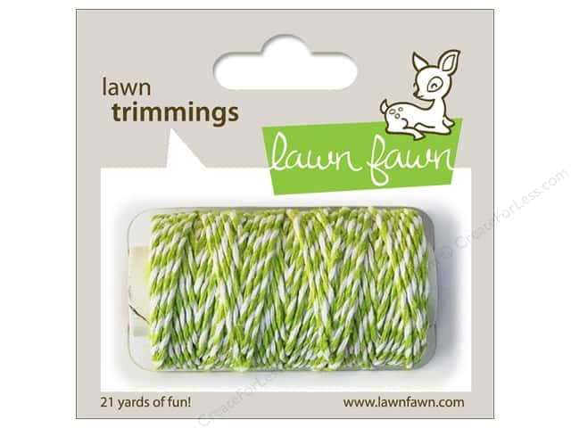 Lawn Fawn Trimmings Cord Lime