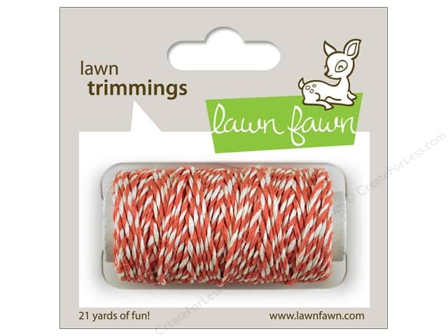 Lawn Fawn Trimmings Cord Coral