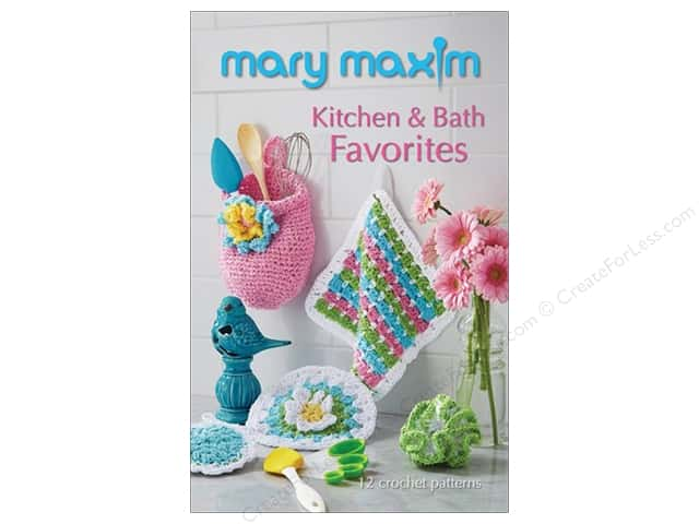 Mary Maxim Kitchen & Bath Favorites Book