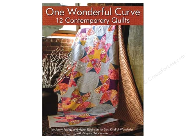 One Wonderful Curve 12 Contemporary Quilts Book