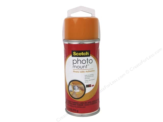 Scotch Adhesive Photo Mount 4.23oz with Hang Tag