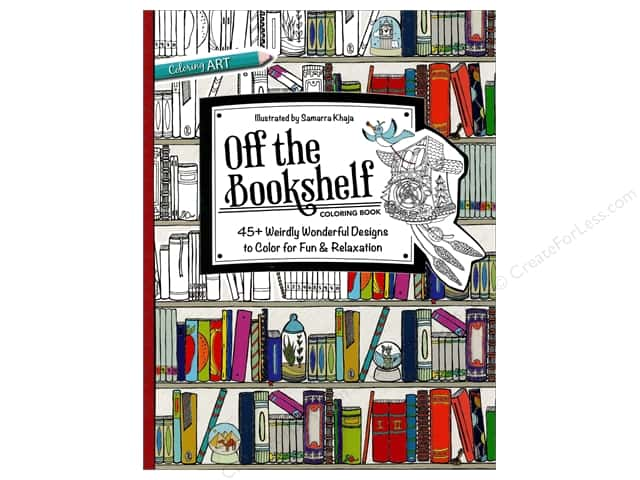 C&T Publishing Off the Bookshelf Coloring Book