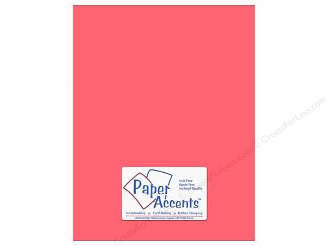 Paper Accents Cardstock 8 1/2 x 11 in. #8007 Muslin Passionate (25 sheets)