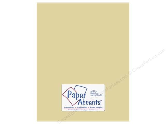 Paper Accents Cardstock 8 1/2 x 11 in. #8017 Muslin Witch Hazel (25 sheets)