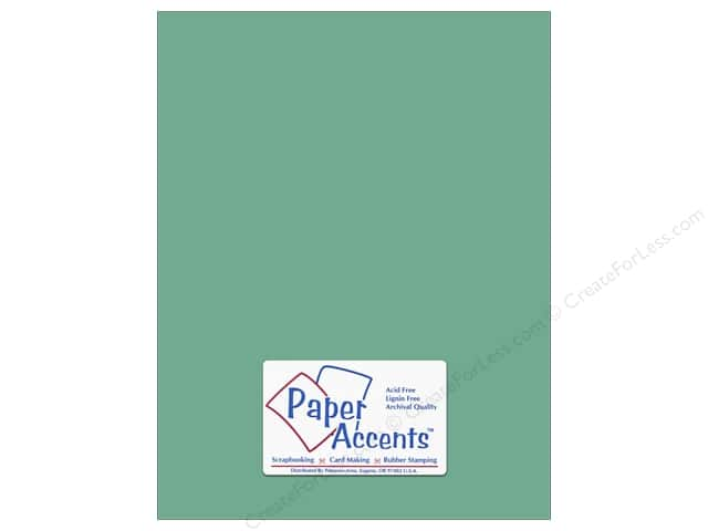 Paper Accents Cardstock 8 1/2 x 11 in. #8031 Muslin Tropical Rain (25 sheets)