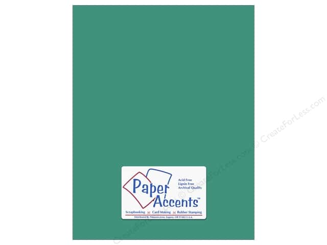 Paper Accents Cardstock 8 1/2 x 11 in. #8040 Muslin Blue Calypso (25 sheets)