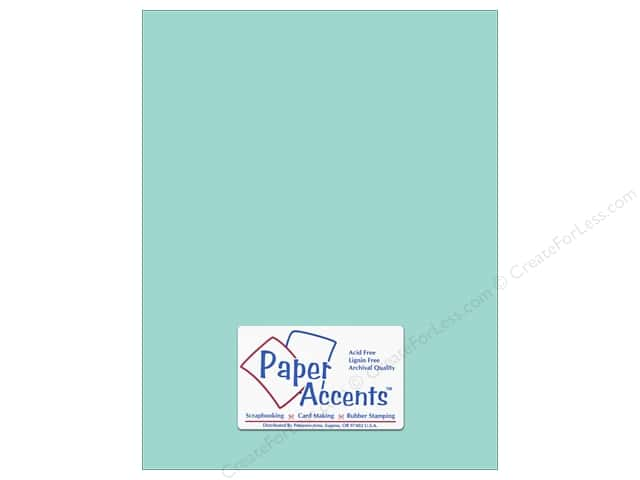 Cardstock 8 1/2 x 11 in. #8034 Muslin Mediterranean by Paper Accents (25 sheets)