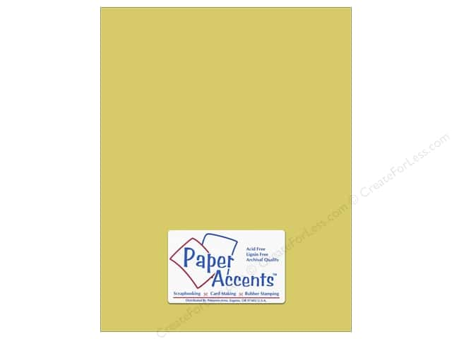 Paper Accents Cardstock 8 1/2 x 11 in. #8022 Muslin Lily Pond (25 sheets)