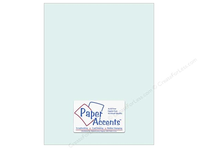 Cardstock 8 1/2 x 11 in. #8029 Muslin Sea Salt by Paper Accents (25 sheets)