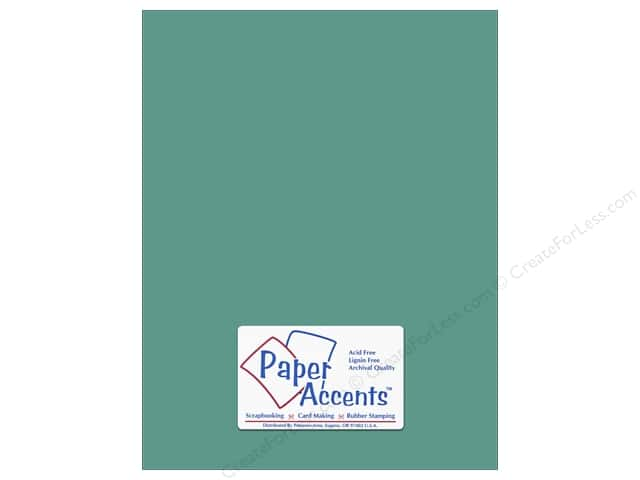 Paper Accents Cardstock 8 1/2 x 11 in. #8036 Muslin Blue Oasis (25 sheets)