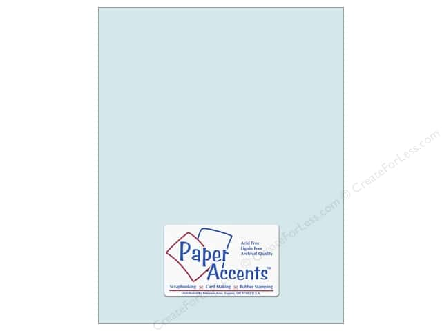 Paper Accents Cardstock 8 1/2 x 11 in. #8037 Muslin Waterfall (25 sheets)