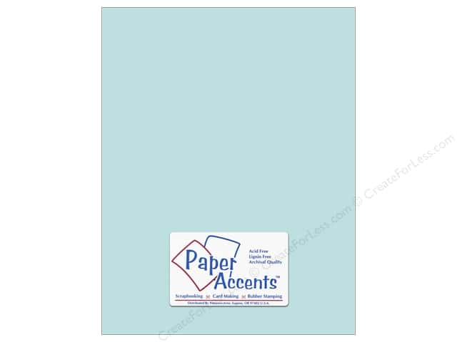 Cardstock 8 1/2 x 11 in. #8041 Muslin Vibrant Blue by Paper Accents (25 sheets)