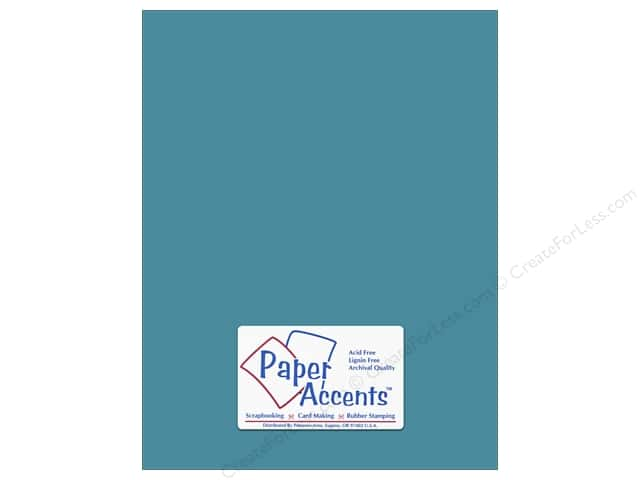 Paper Accents Cardstock 8 1/2 x 11 in. #8043 Muslin North Sea (25 sheets)