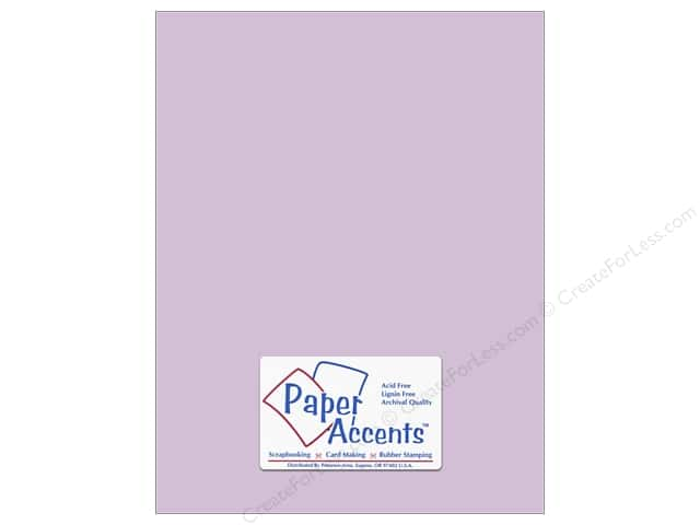 Paper Accents Cardstock 8 1/2 x 11 in. #8049 Muslin Lavender Twilight (25 sheets)