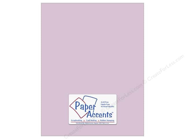Paper Accents Cardstock 8 1/2 x 11 in. #8054 Muslin Purple Palisades (25 sheets)