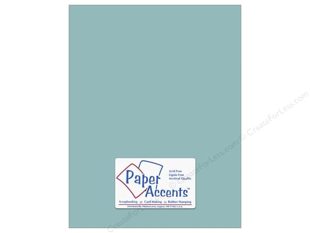 Cardstock 8 1/2 x 11 in. #8042 Muslin Evening Surf by Paper Accents (25 sheets)
