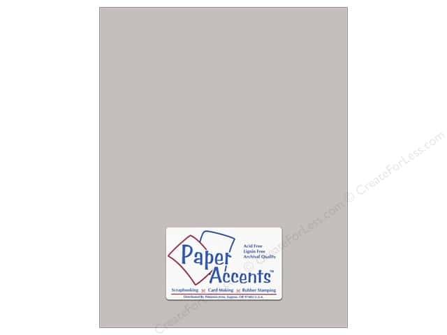 Paper Accents Cardstock 8 1/2 x 11 in. #8078 Muslin Hurricane (25 sheets)