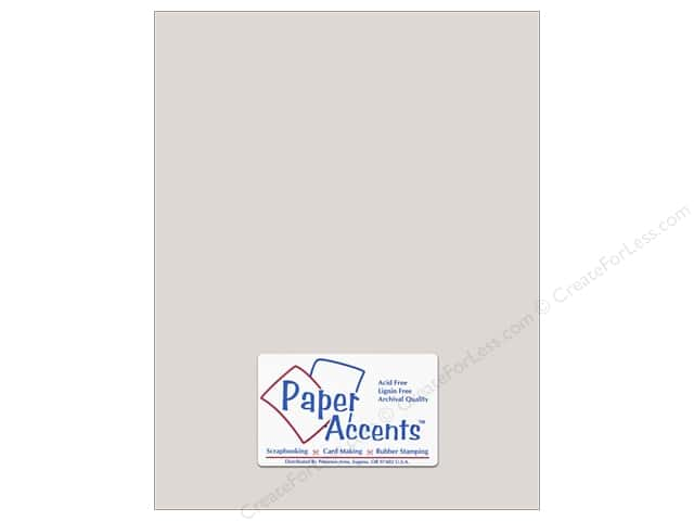 Cardstock 8 1/2 x 11 in. #8073 Muslin Mystique by Paper Accents (25 sheets)