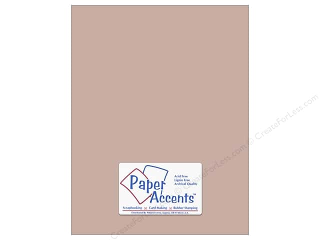Cardstock 8 1/2 x 11 in. #8074 Muslin Stonehenge by Paper Accents (25 sheets)