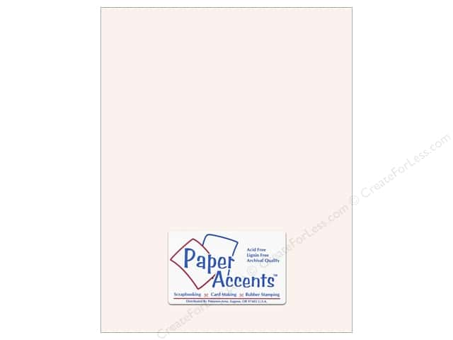 Cardstock 8 1/2 x 11 in. #8077 Muslin Avalanche by Paper Accents (25 sheets)