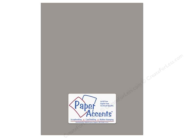 Paper Accents Cardstock 8 1/2 x 11 in. #8079 Muslin Nor'easter (25 sheets)
