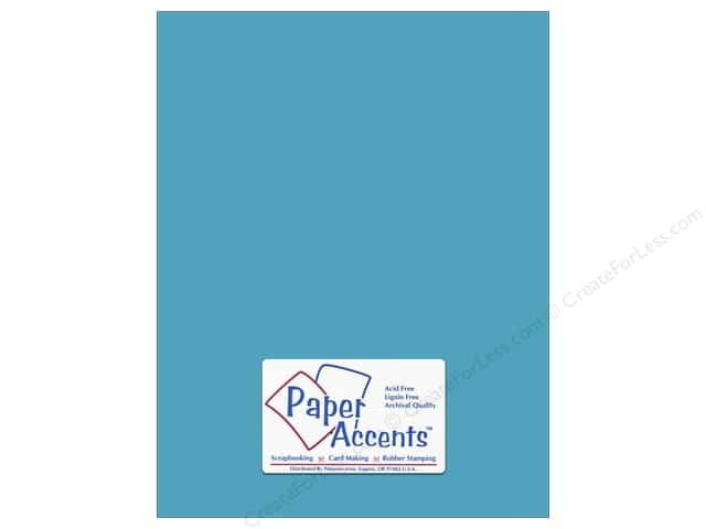 Paper Accents Cardstock 8 1/2 x 11 in. #176 Smooth Cyan (25 sheets)