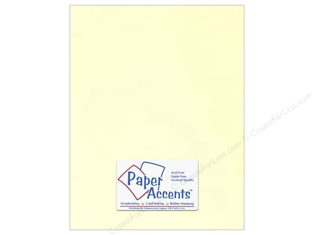 Paper Accents Cardstock 8 1/2 x 11 in. #122 Smooth Ivory (25 sheets)