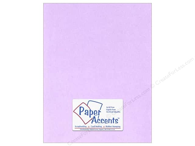 Paper Accents Cardstock 8 1/2 x 11 in. #123 Smooth Lavender (25 sheets)