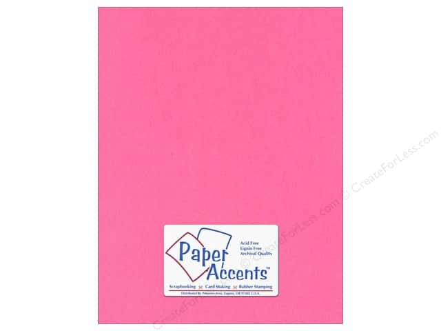 Paper Accents Cardstock 8 1/2 x 11 in. #130 Smooth Rose (25 sheets)