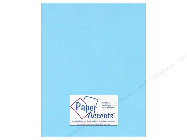 Paper Accents Cardstock 8 1/2 x 11 in. #116 Smooth Light Blue (25 sheets)