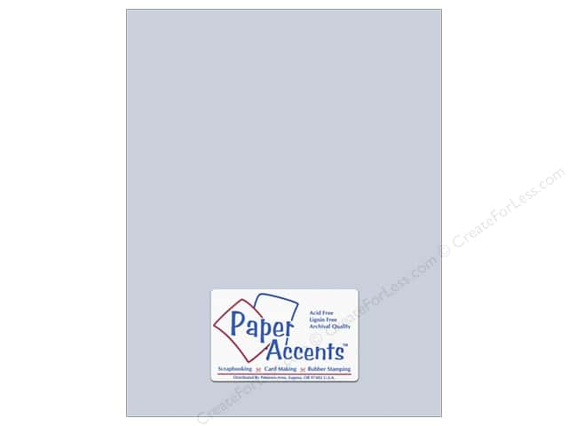 Paper Accents Cardstock 8 1/2 x 11 in. #181 Stash Builder Pale Blue (25 sheets)