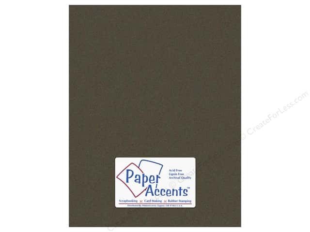 Paper Accents Cardstock 8 1/2 x 11 in. #734 Textured Black (25 sheets)