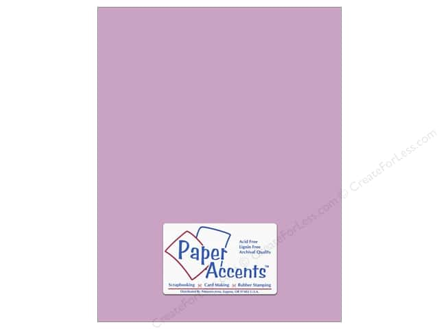 Cardstock 8 1/2 x 11 in. #8055 Muslin Wild Pansy by Paper Accents (25 sheets)