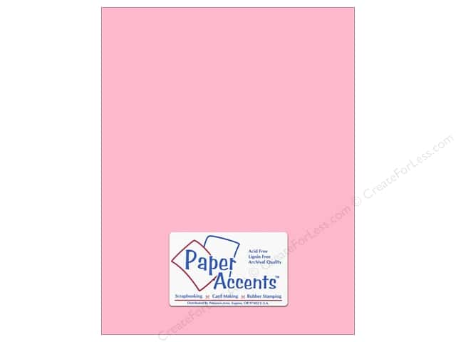 Cardstock 8 1/2 x 11 in. #8057 Muslin Mauve Ice by Paper Accents (25 sheets)