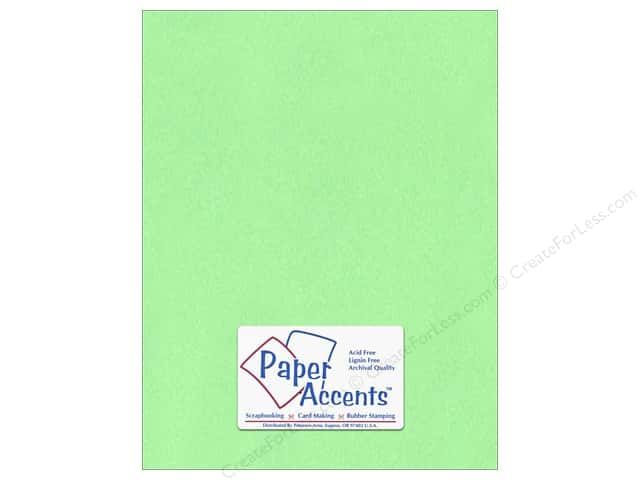 Paper Accents Cardstock 8 1/2 x 11 in. #132 Smooth Apple Green (25 sheets)