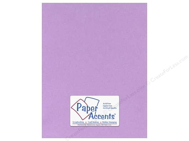 Cardstock 8 1/2 x 11 in. #131 Smooth Lilac by Paper Accents (25 sheets)