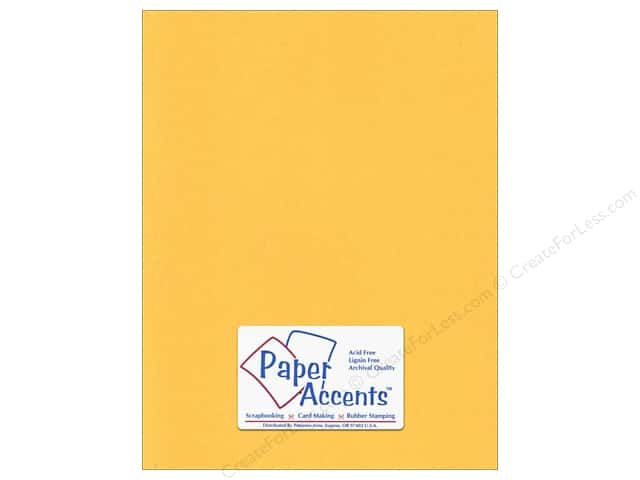 Cardstock 8 1/2 x 11 in. #95 Smooth Dandelion by Paper Accents (25 sheets)