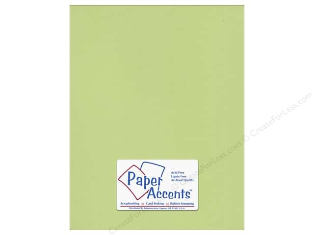 Paper Accents Cardstock 8 1/2 x 11 in. #195 Smooth Sour Apple (25 sheets)