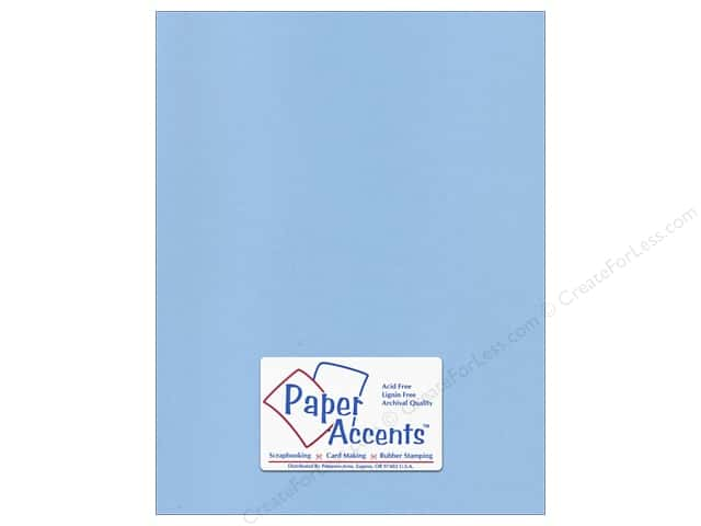 Paper Accents Cardstock 8 1/2 x 11 in. #96 Smooth Blue Willow (25 sheets)