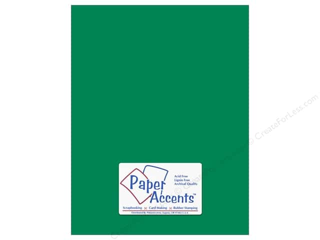 Paper Accents Cardstock 8 1/2 x 11 in. #90 Smooth Green Grass (25 sheets)