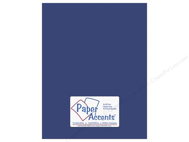 Paper Accents Cardstock 8 1/2 x 11 in. #153 Smooth Lapis (25 sheets)
