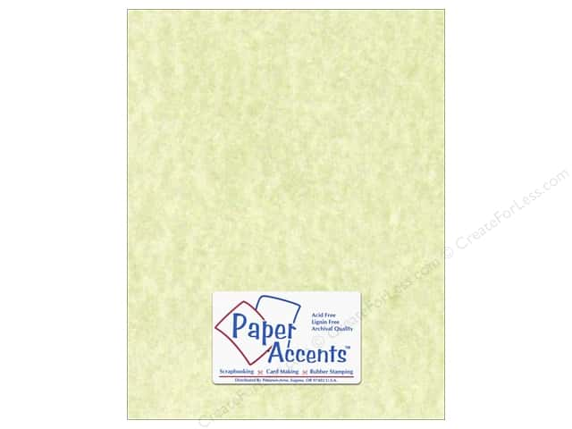 Paper Accents Cardstock 8 1/2 x 11 in. #207 Parchment Green (25 sheets)