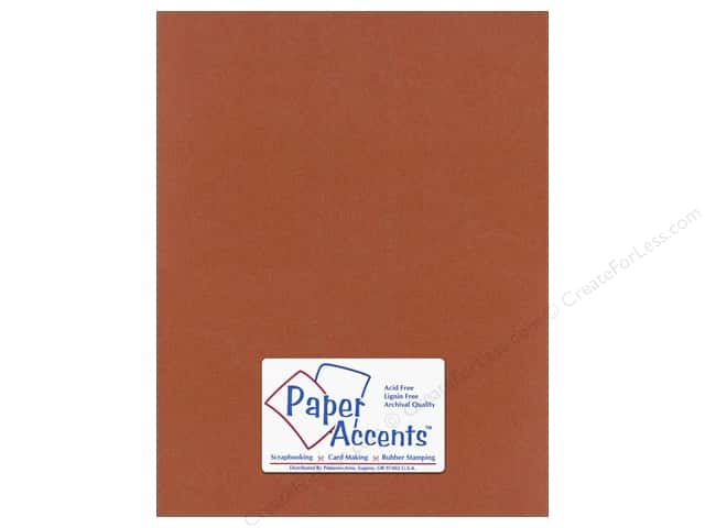 Paper Accents Cardstock 8 1/2 x 11 in. #319 Recycled Paprika (25 sheets)