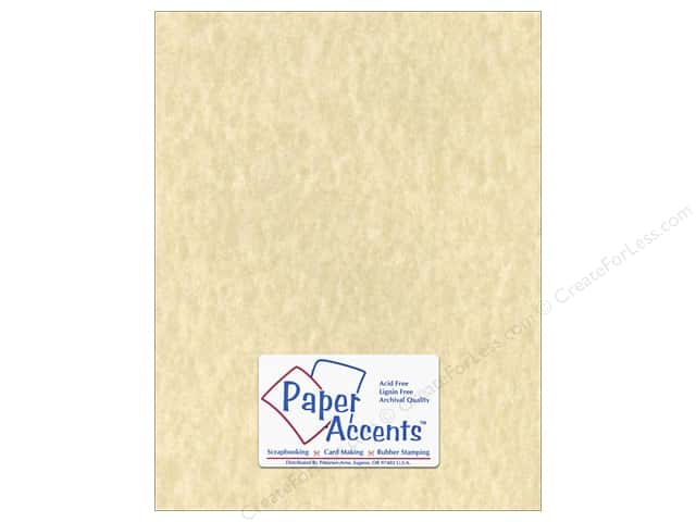Cardstock 8 1/2 x 11 in. #203 Parchment Natural by Paper Accents (25 sheets)