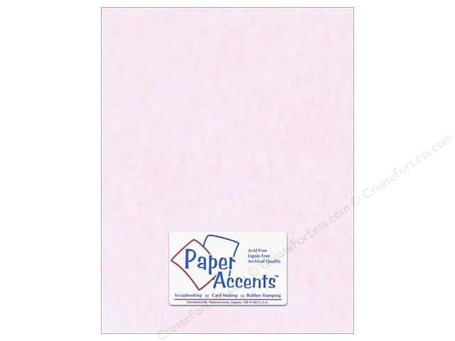 Paper Accents Cardstock 8 1/2 x 11 in. #206 Parchment Pink (25 sheets)