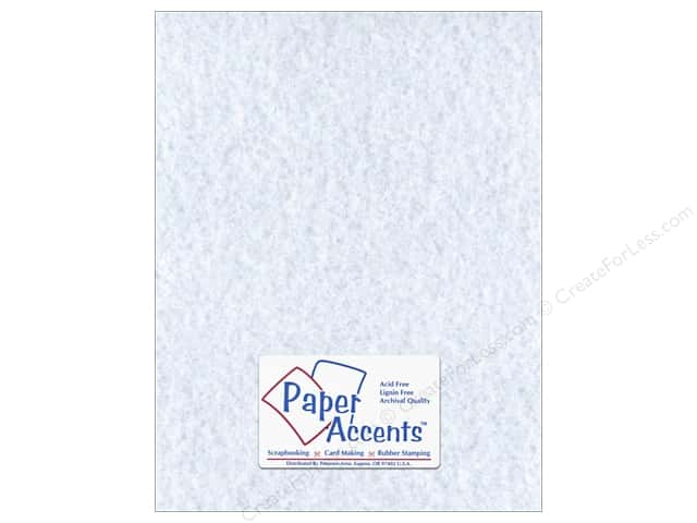 Paper Accents Cardstock 8 1/2 x 11 in. #208 Parchment Blue (25 sheets)